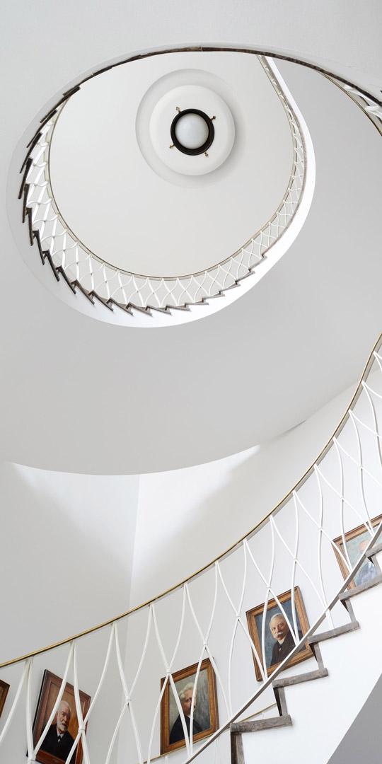 locales para viviendas espiral escaleras